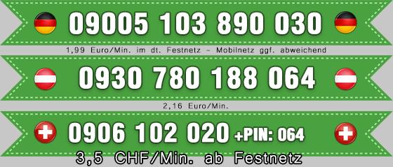 nummern für den telefonfick mit transen